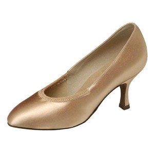 Supadance - Damen Tanzschuhe 1008 - Flesh Satin