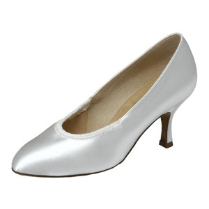 Supadance - Damen Tanzschuhe 1008 - Satin Weiß