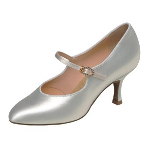 Supadance - Ladies Dance Shoes 1012 - White Satin