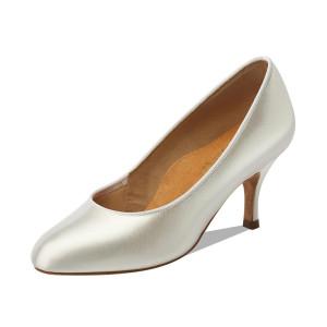 Supadance - Ladies Dance Shoes 1017 - White Satin