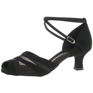 Diamant - Mulheres Sapatos de Dança 102-064-040 - Nubuck Preto