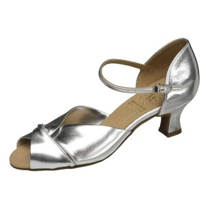 Supadance - Femmes Chaussures de Danse 1028 - Coag Argent