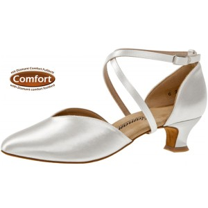 Diamant - Ladies Dance / Bridal Shoes 107-013-092 - White