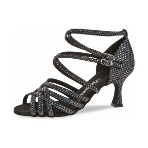 Diamant - Ladies Dance Shoes 108-087-183 - Black/Silver