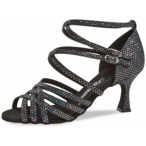 Diamant - Mulheres Sapatos de Dança 108-087-183 - Preto/Prata