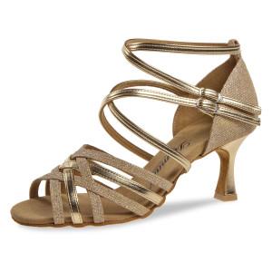 Diamant - Mulheres Sapatos de Dança 108-087-559 - Ouro