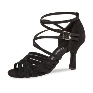 Diamant Mujeres Zapatos de Baile 108-108-001 - Ante Negro