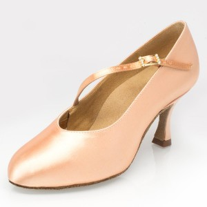 Ray Rose - Damen Tanzschuhe 116 Rockslide - Satin Light Flesh