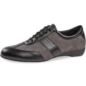 Diamant - Men´s Ballroom Sneakers 123-225-376 Black/Grey