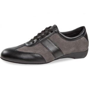 Diamant - Herren Ballroom Sneakers 123-225-376 Schwarz/Grau