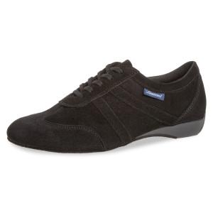 Diamant Mens Dance Shoes 133-226-001 - Suede Black