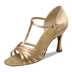 Supadance - Damen Tanzschuhe 1401 - Flesh Satin