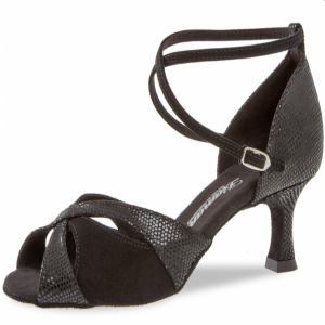 Diamant - Ladies Dance Shoes 141-077-084 - Black Suede
