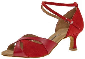 Diamant - Ladies Dance Shoes 141-077-389 - Red Leather