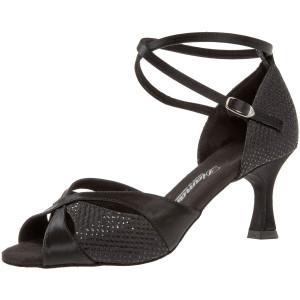 Diamant - Mulheres Sapatos de Dança 141-087-411 - Cetim Preto