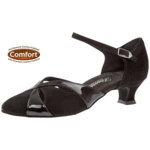 Diamant - Ladies Dance Shoes 142-014-008 - Suede [Wide]