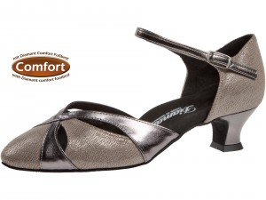 Diamant - Ladies Dance Shoes 142-014-466 - Bronce [Wide]