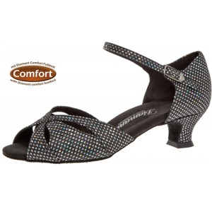 Diamant - Ladies Dance Shoes 144-011-183 - Black/Silver