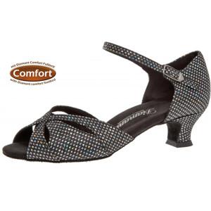 Diamant - Mulheres Sapatos de Dança 144-011-183 - Camurça Preto