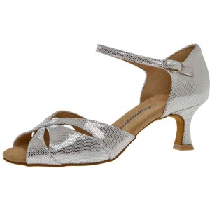 Diamant - Ladies Dance Shoes 144-077-246 - Silver-White