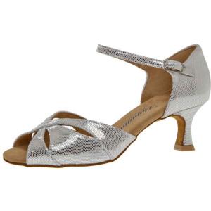Diamant - Damen Tanzschuhe 144-077-246 - Silber-Weiß