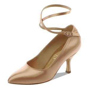 Supadance - Damen Tanzschuhe 2003 - Flesh Satin