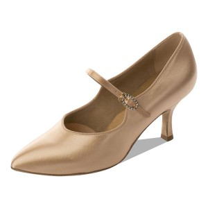 Supadance - Damen Tanzschuhe 2012 - Flesh Satin