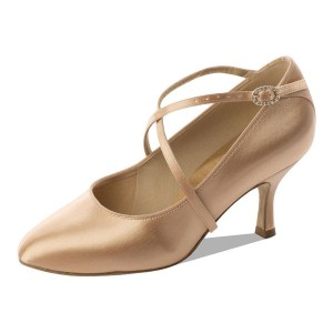 Supadance - Damen Tanzschuhe 2016 - Flesh Satin