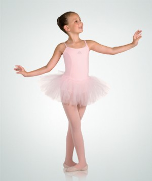 Body Wrappers - Princess seamed tutu Leotard 2090