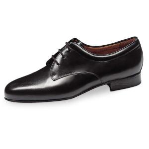 Werner Kern - Hommes Chaussures de Danse 28012 - Cuir Noir