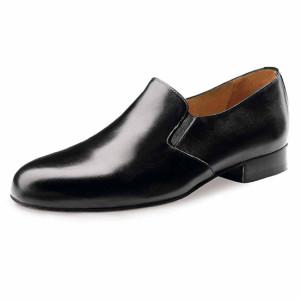 Werner Kern - Hommes Chaussures de Danse 28016 - Cuir Noir