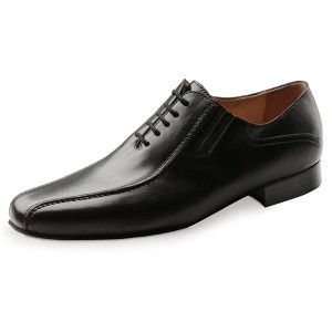 Werner Kern - Hommes Chaussures de Danse 28017 - Cuir Noir