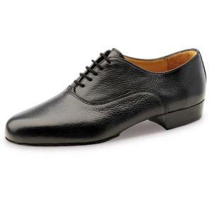 Werner Kern - Hommes Chaussures de Danse 28036 - Cuir Noir
