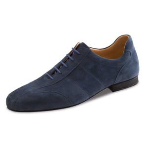 Werner Kern - Hombres Zapatos de Baile 28045 - Ante Azul