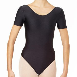 Intermezzo - Girls Ballet Body/Leotard with round neck and sleeves short 3050 Bodyly Mc