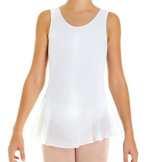 Intermezzo - Girls Ballet Body/Leotard with skirt and straps wide 3055 Bodymerfal