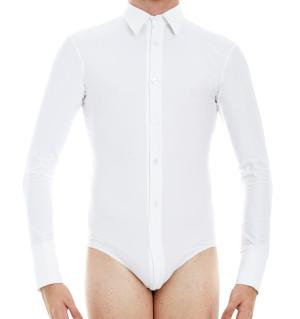 Intermezzo - Jungen Tanzhemd/Body mit Ärmeln lang 31077 Bodycamil