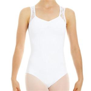 Intermezzo - Mädchen Ballett Body/Trikot mit Trägern breit 31286 Bodymerblon Sm