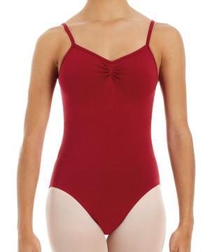 Intermezzo - Mädchen Ballett Body/Trikot mit Spaghetti-Trägern 3386 Bodypap Strap