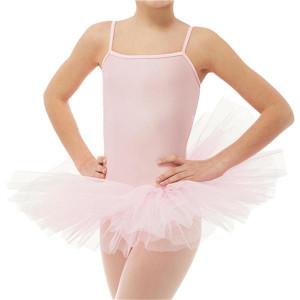 Intermezzo - Mädchen Ballett Body/Trikot mit Tutu und Spaghetti-Trägern 3425 Bodylystraptu