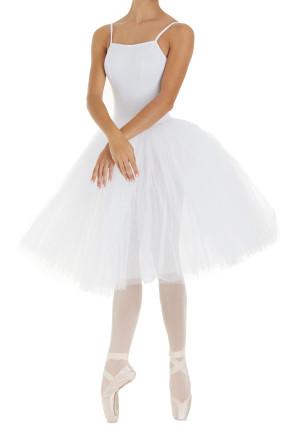 Intermezzo - Mädchen Ballett Body/Trikot mit Romantik Tutu 3487 Loverstrapcor