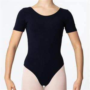 Intermezzo - Mädchen Ballett Trikot/Body mit Ärmeln kurz 3673 Bodysup Mc