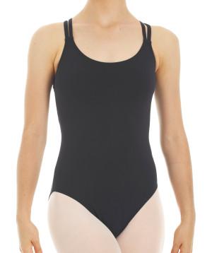 Intermezzo - Mädchen Ballett Body/Trikot mit 2 Trägern schmal 3852 Bodysupcru