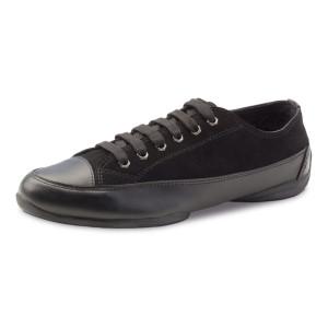 Anna Kern - Herren Dance Sneakers 4024-15 - Leder Schwarz