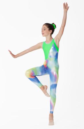 Intermezzo - Girls Gymnastics suit with straps wide 4133 Skinice