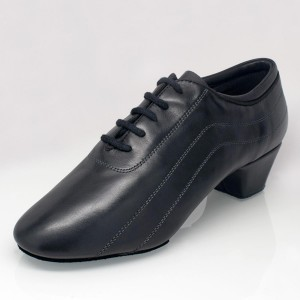 Ray Rose - Men´s Latin Shoes 447 Zephyr - Black Leather