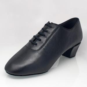 Ray Rose - Hombres Latino Zapatos de Baile 460 Thunder - Cuero Negro