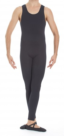 Intermezzo - Mens Unitard long with foot and straps wide 4641 Skinsupman