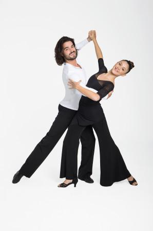 Intermezzo - Damen Tanz-Hose/Trainingshose lang und weit ausgestellt 5252 Panparafalred