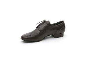 Dancelife - Homens Sapatos de Dança 53231 - Pele Marrom